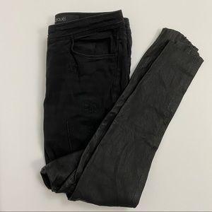 YIGAL AZROUËL Leather Leg Jeans